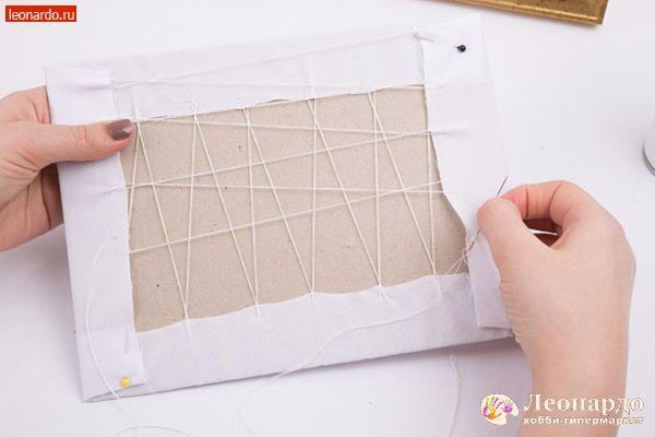 Как своими руками вставить вышивку в рамку своими руками