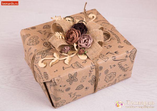Винтажная упаковка подарков 84