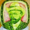 Карвинг – художественная резьба по овощам и фруктам