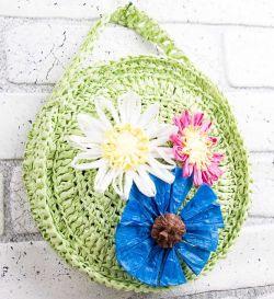 ff5a67e820d1 ... делать яркие цветы, то самое время приступить к чему-то более сложному  и интересному. Экологичная и яркая рафия подходит не только для изготовления  ...