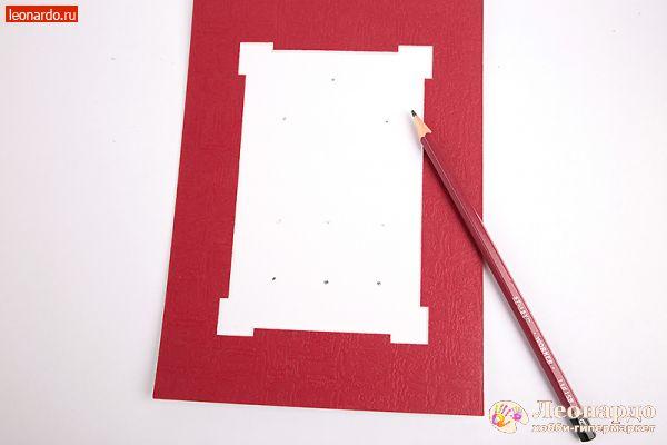 Паспарту для открытки своими руками