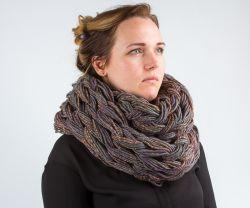 вязаный шарф снуд леонардо хобби гипермаркет товары для хобби