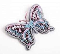 Бесплатно бабочки из бисера и натуральных камней