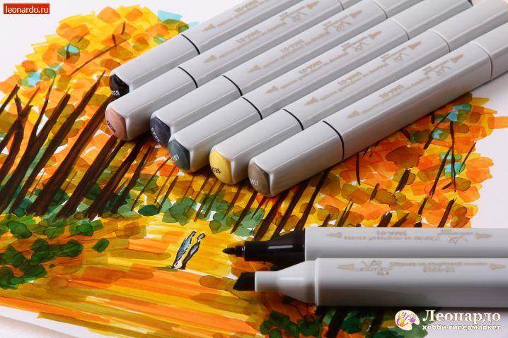долгожданная новинка наборы маркеров Vista Artista леонардо